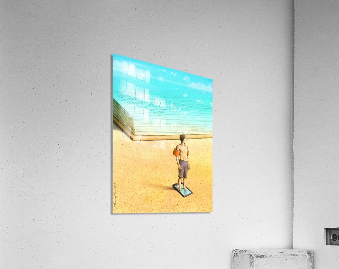 bath  Acrylic Print