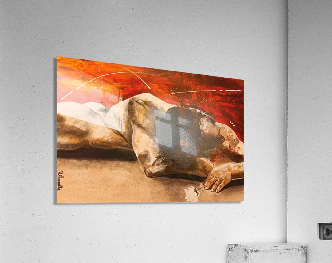 Mis à Nu  Acrylic Print