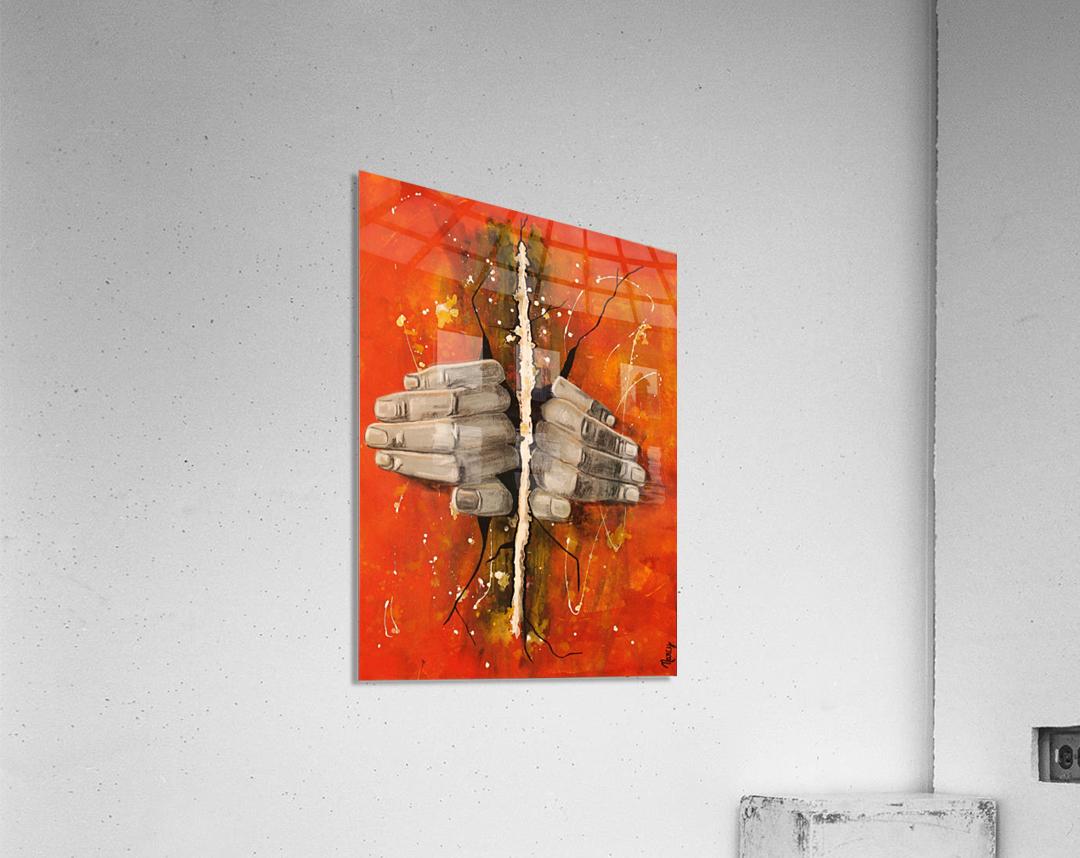 La Brèche  Acrylic Print
