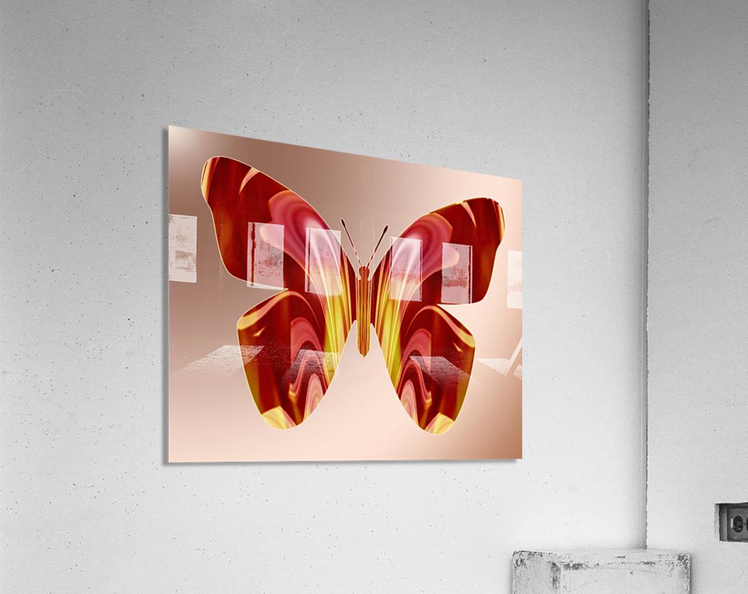 BejeweledButterfly  Acrylic Print