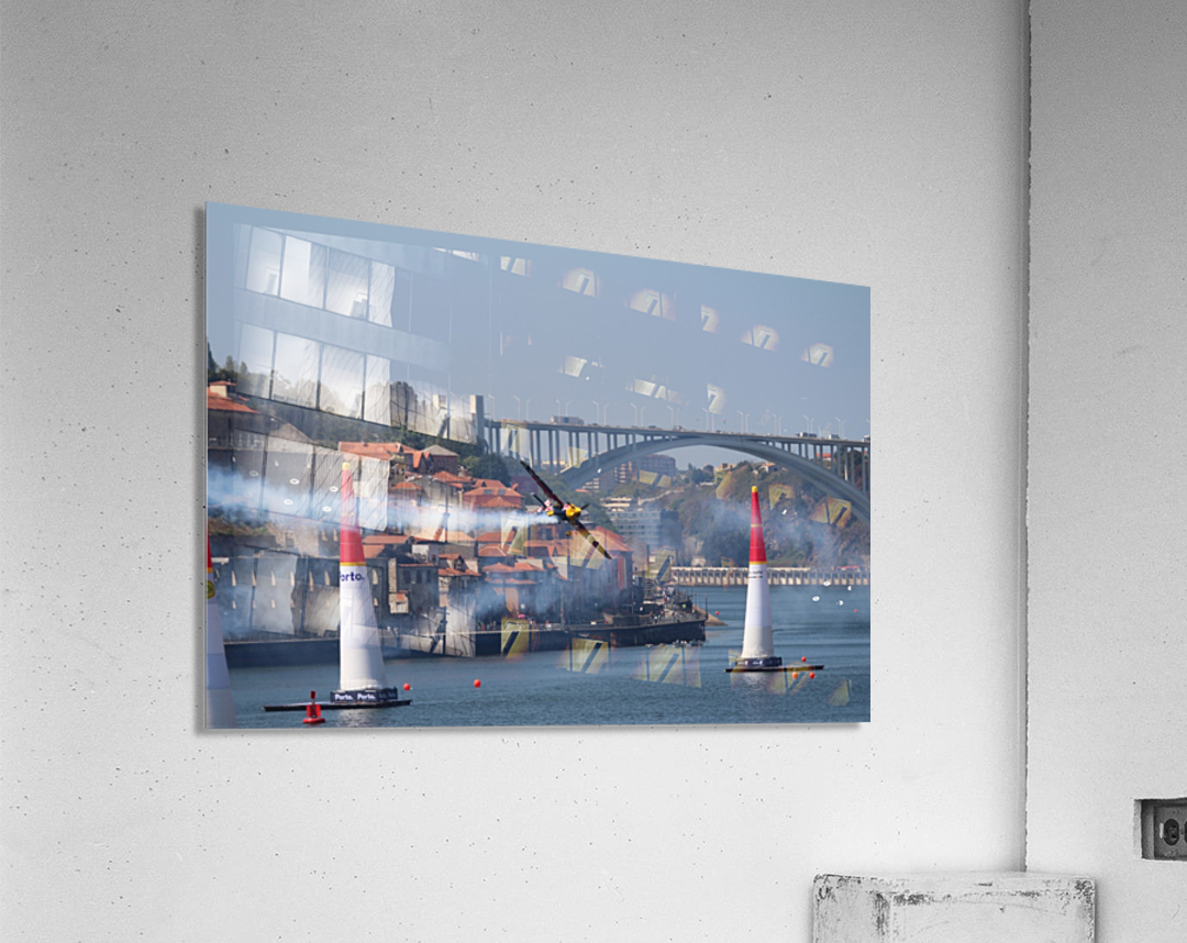 Oporto Red Bull Air Race 2017  Acrylic Print
