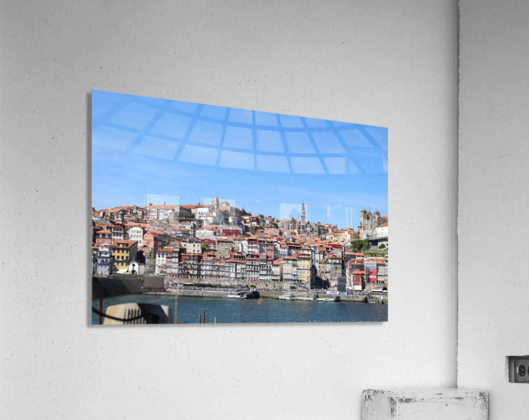 Oporto City at Douro River  Acrylic Print
