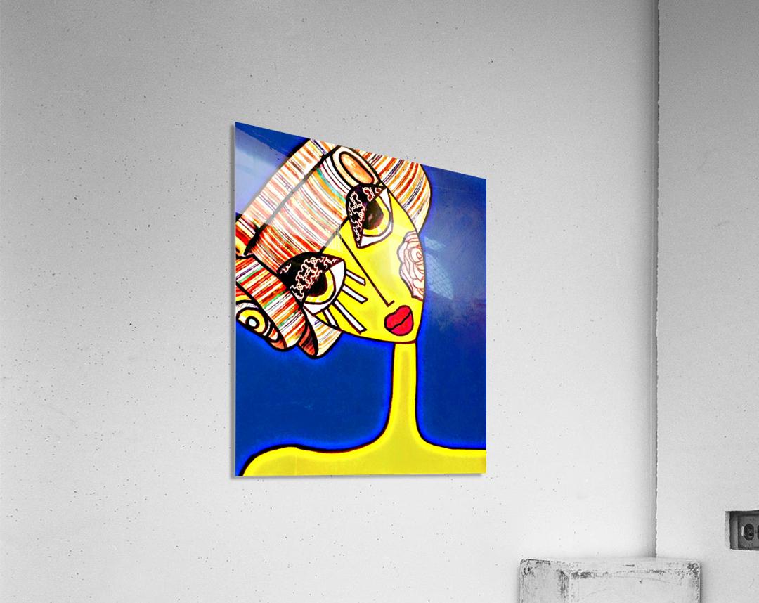 pixel  Acrylic Print