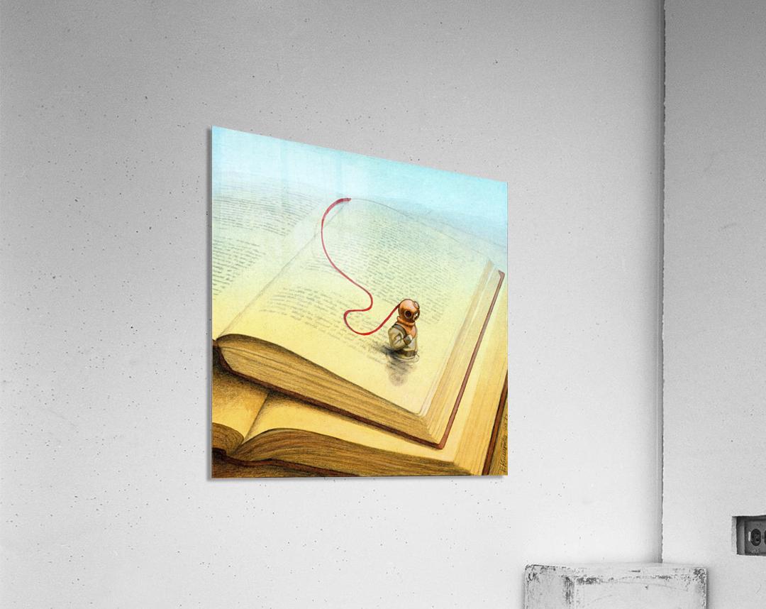 deeper  Acrylic Print