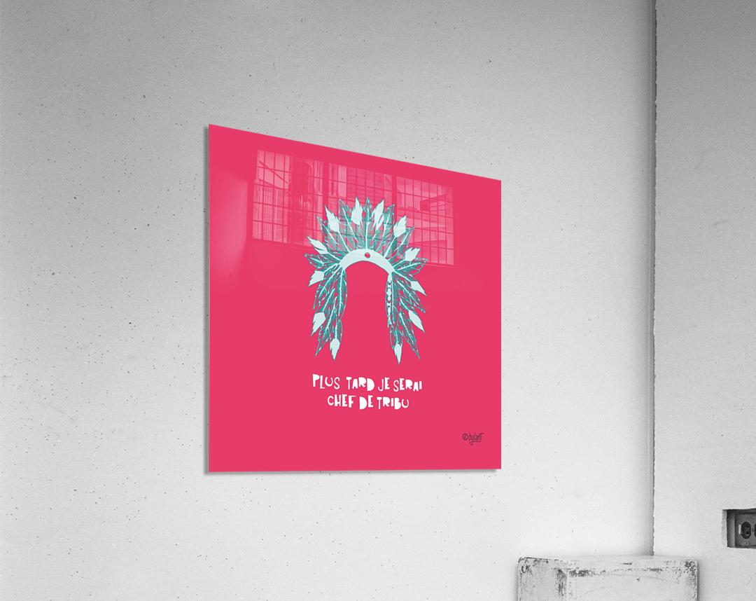 COIFFE D INDIEN  Acrylic Print
