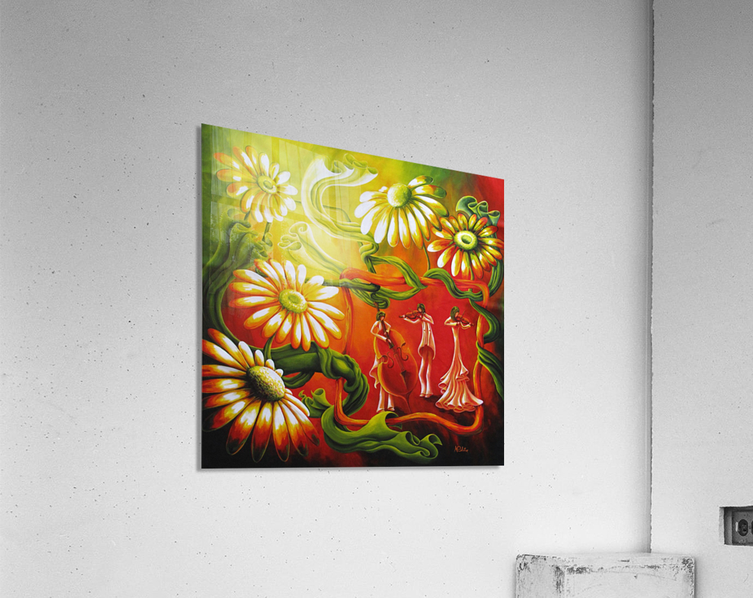 Inspired by music  Acrylic Print