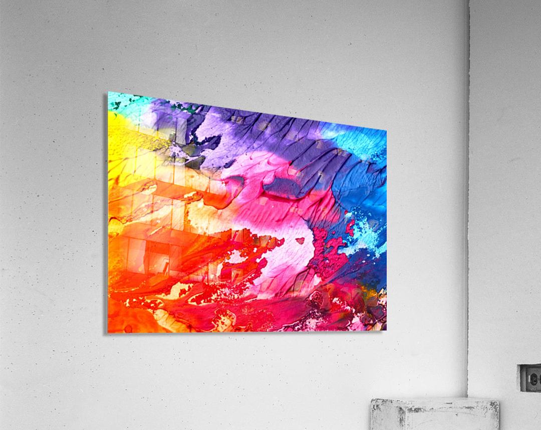 abstra  Acrylic Print