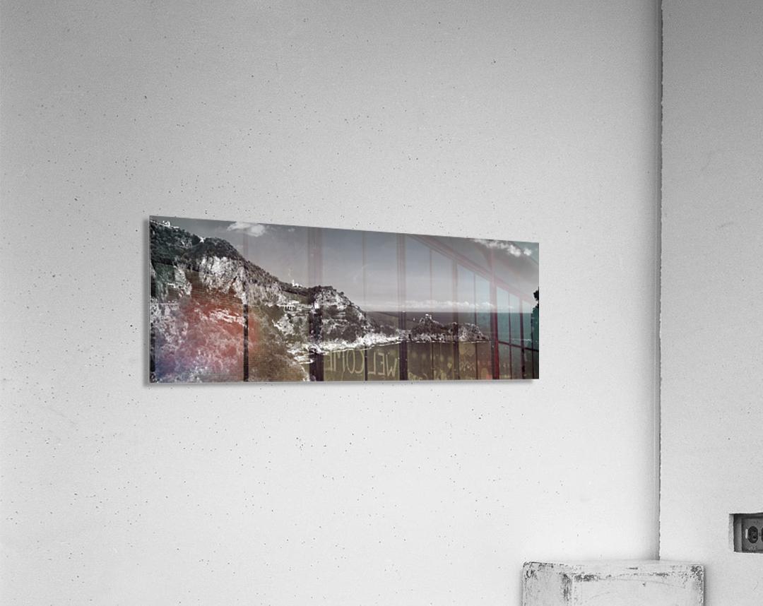 Super panoramic view Amalfi Coast - Italy  Acrylic Print