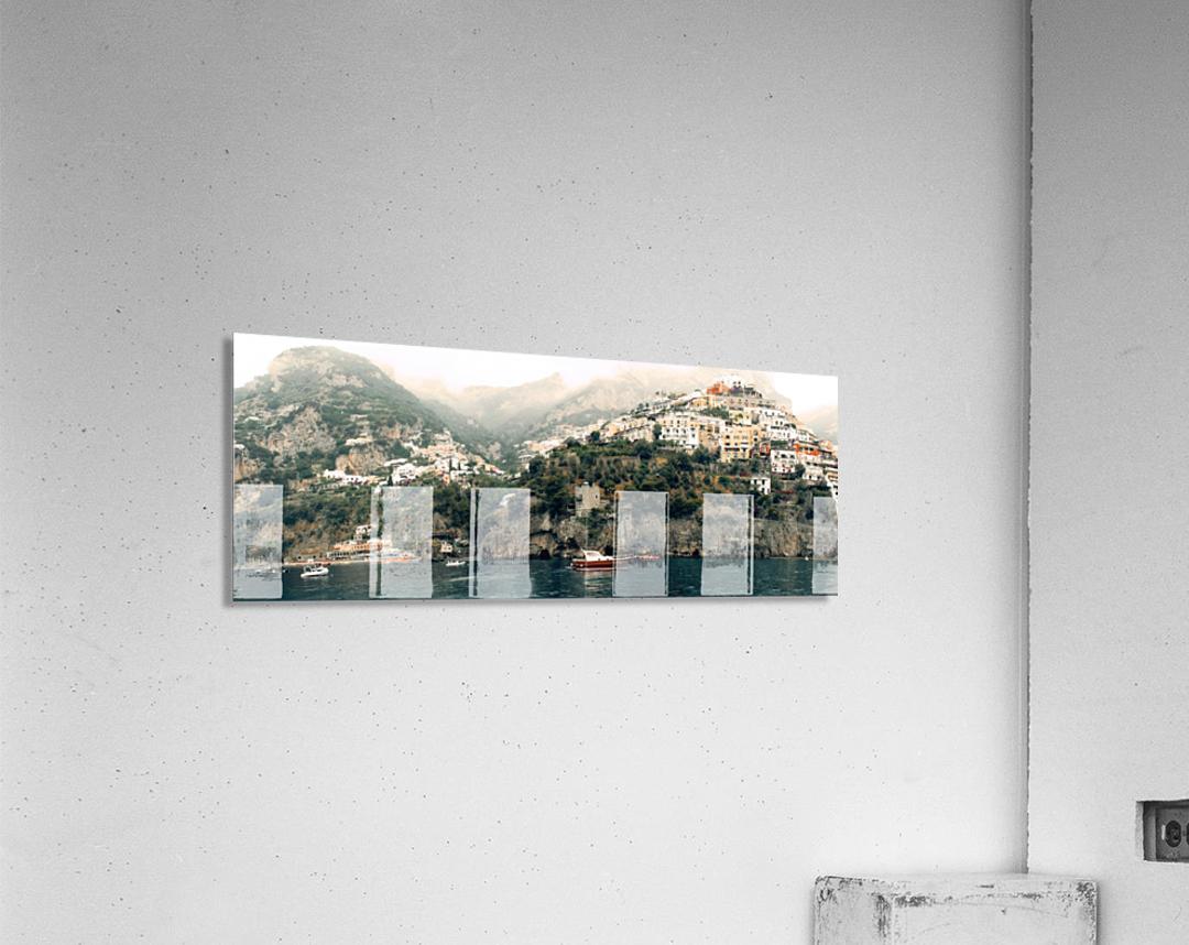 Panoramic Positano - Amalfi Coast - Italy  Acrylic Print