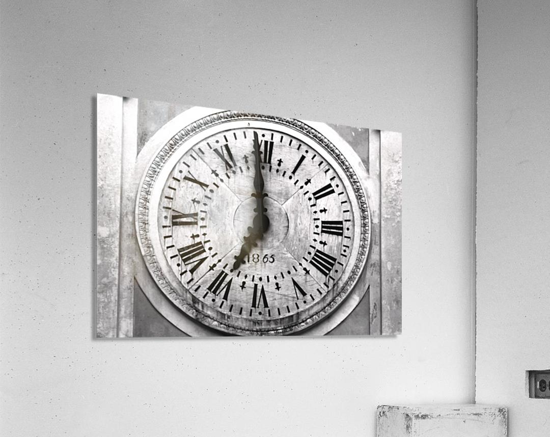 The Old Church Clock  Acrylic Print