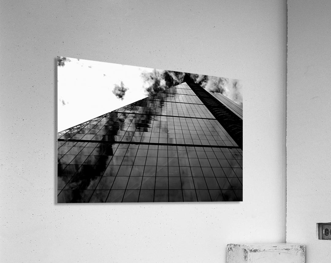 London Skyscraper II - Black and White  Acrylic Print