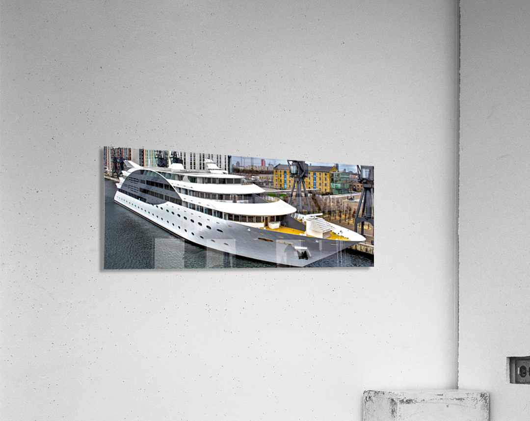Cruise ship - Super Panoramic  Acrylic Print