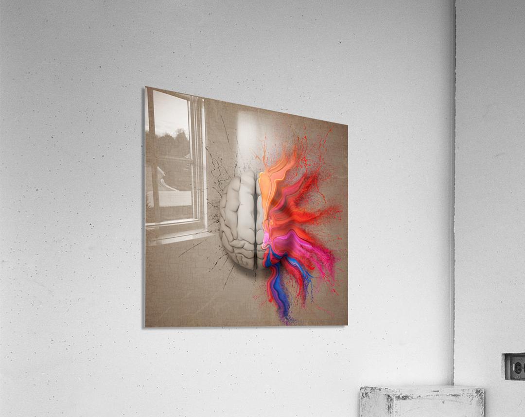 The Creative Brain  Acrylic Print