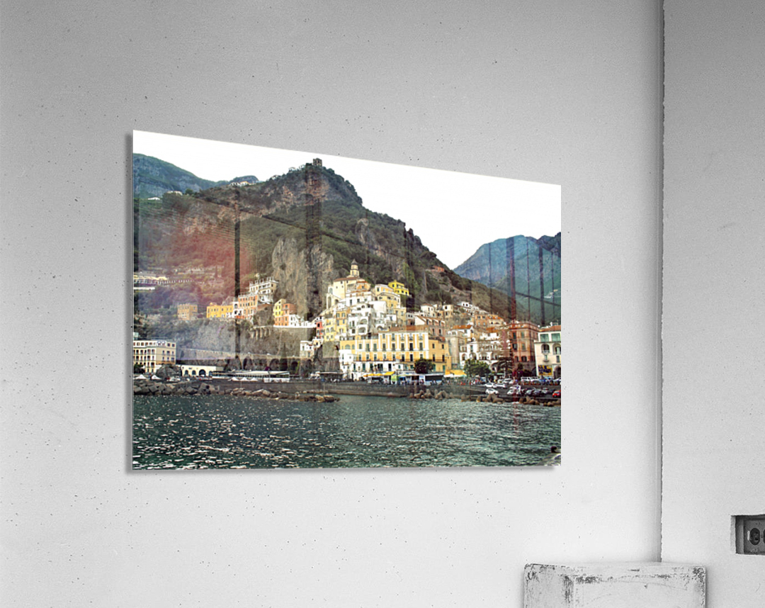 Italian Village Landscape - Amalfi  Acrylic Print