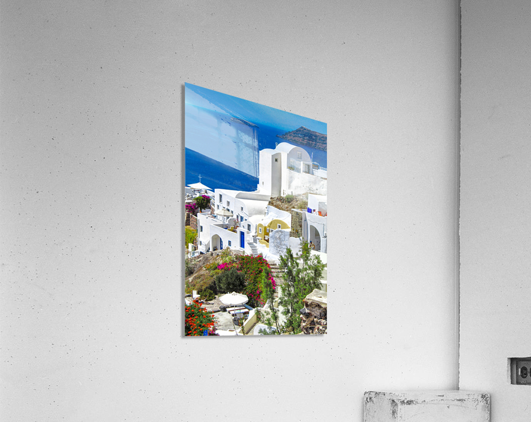 Portrait - Beautiful Village   Acrylic Print