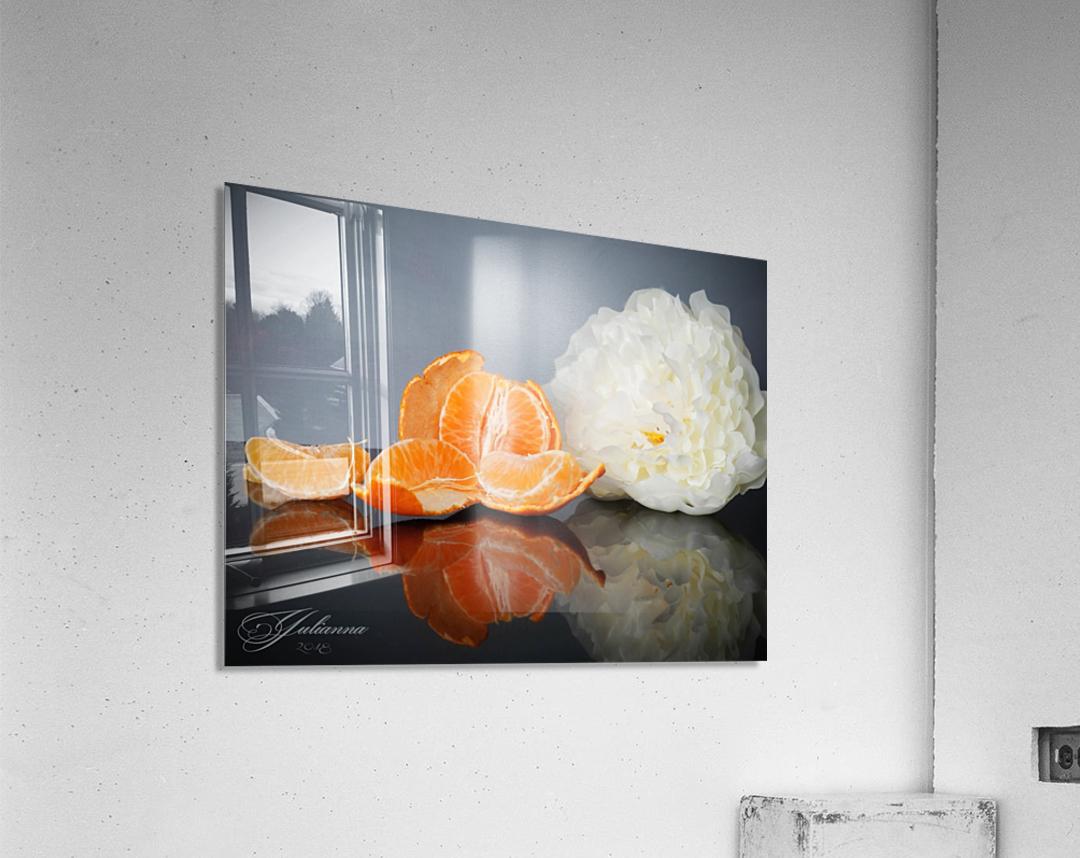 Orange sparkle   Acrylic Print