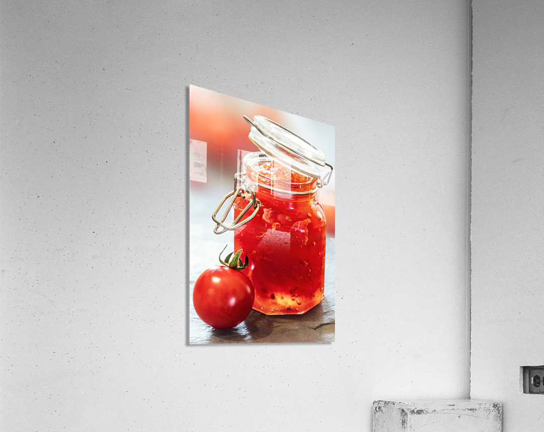 Tomato Jam in Glass Jar  Acrylic Print
