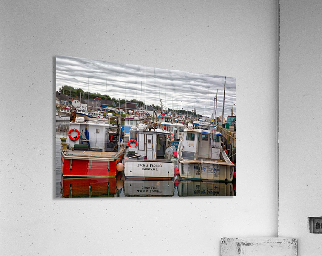 Packed In  Acrylic Print
