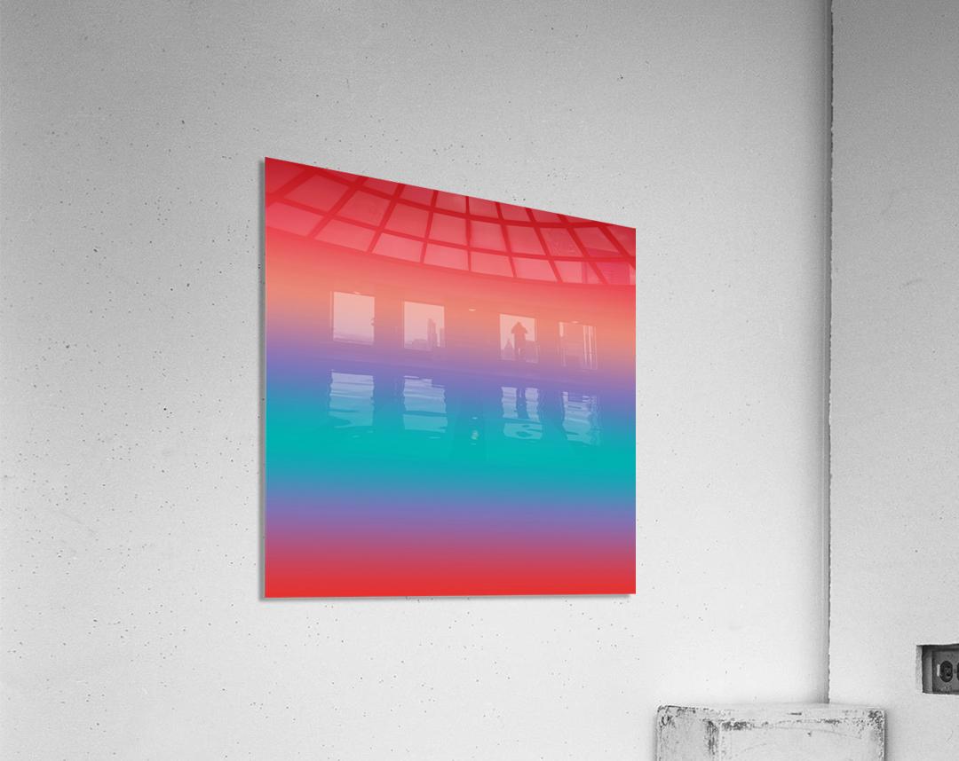 summer Ombre  Acrylic Print