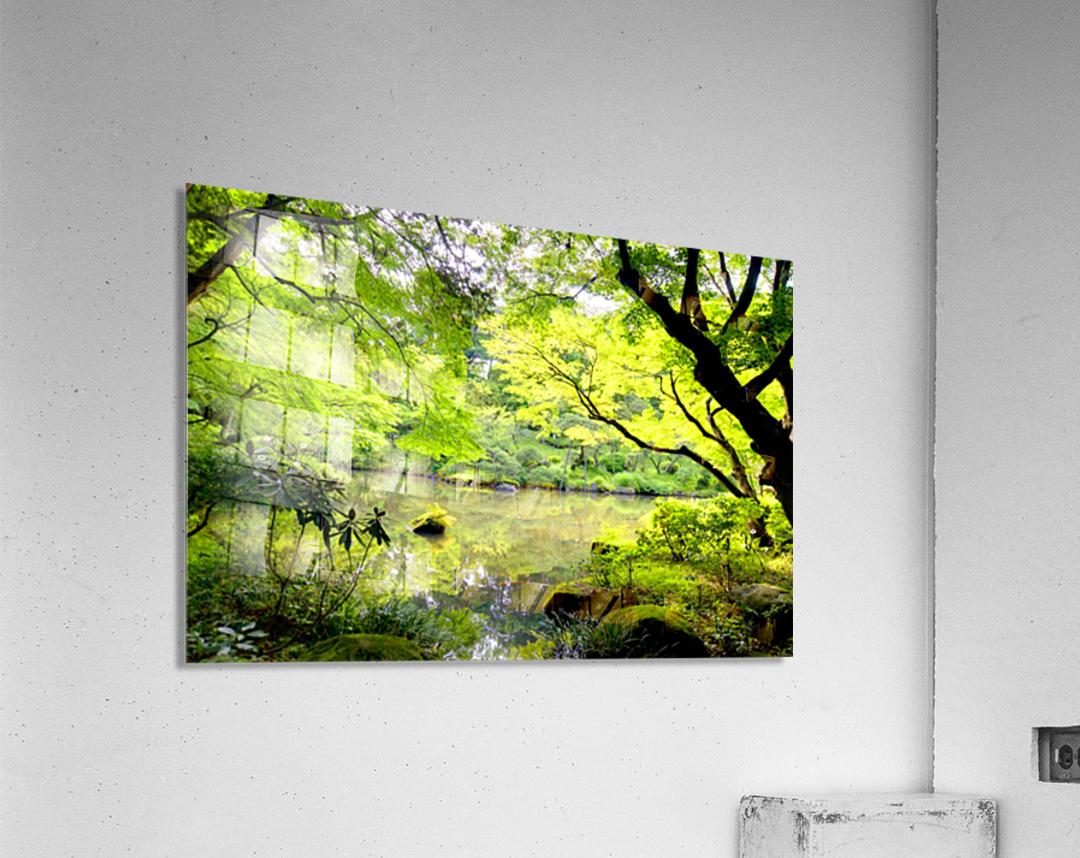 Tokyo Garden  Acrylic Print