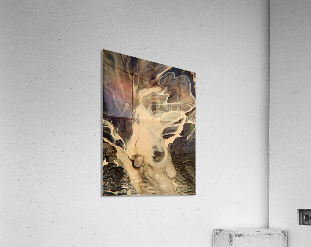SMOKE ON WATER  Acrylic Print