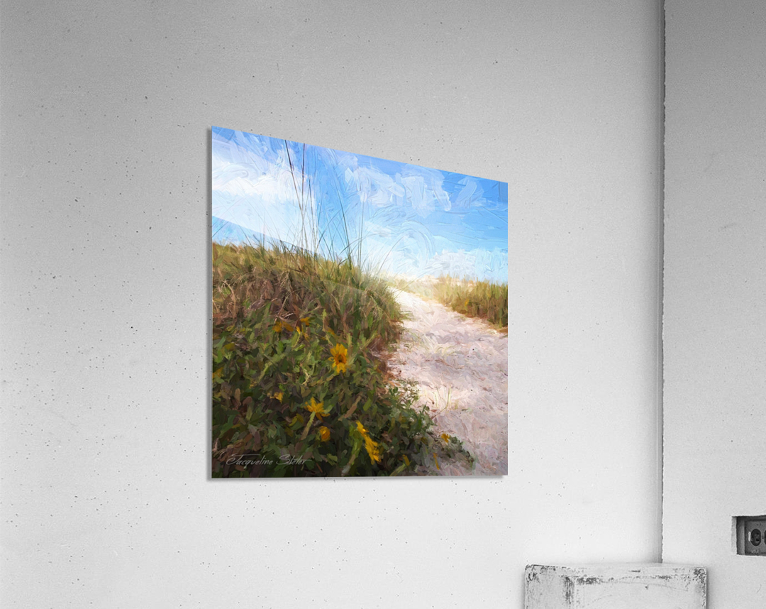 A Trail to the Beach  Acrylic Print