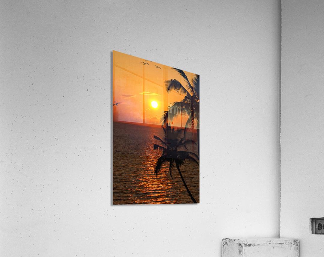 Unknown Paradise  Acrylic Print
