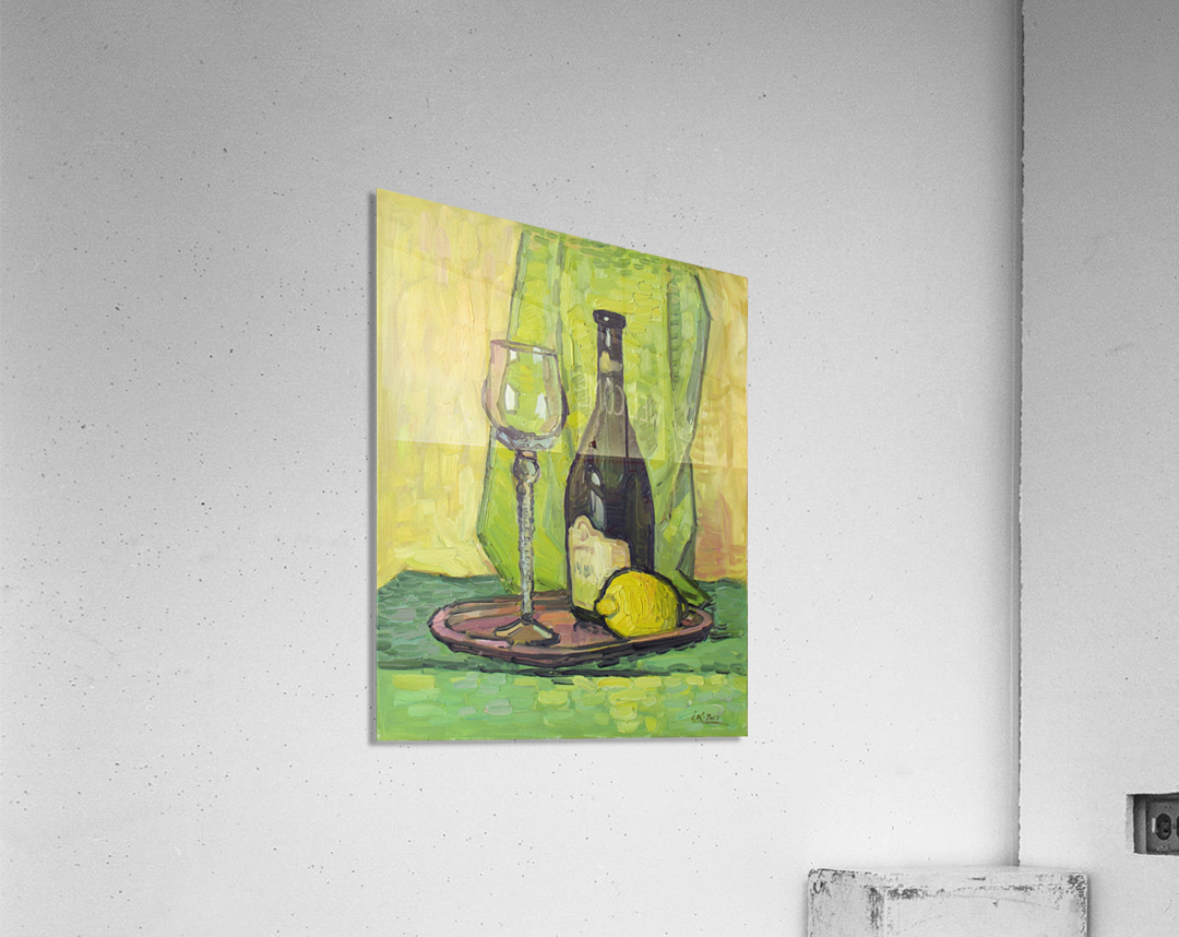 Still Life with Lemon  Acrylic Print