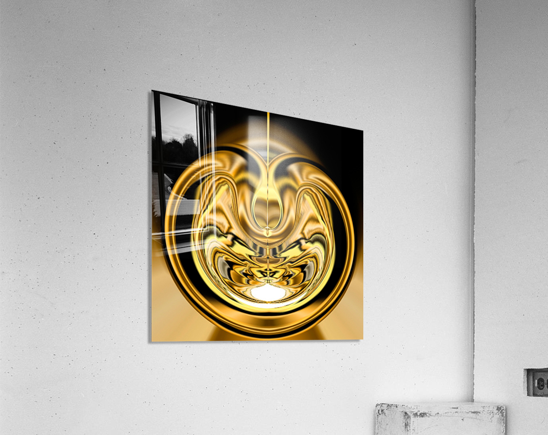 GoldTone2  Acrylic Print