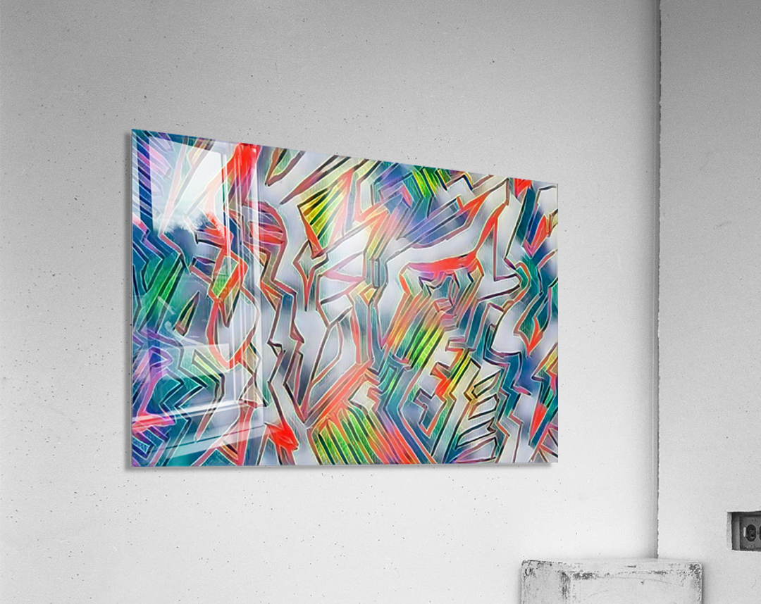 nyrneon  Acrylic Print
