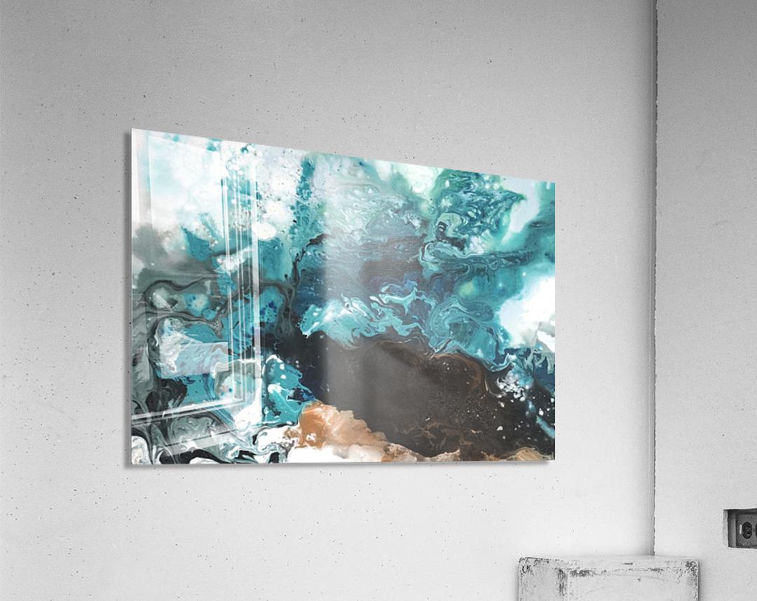 Ocean Glass  Acrylic Print