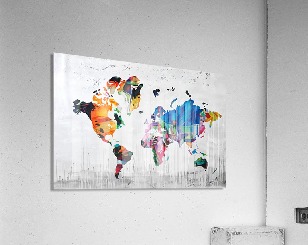 Monde  Acrylic Print