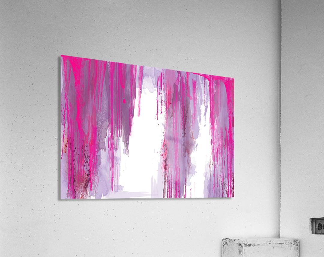 Rainning  Impression acrylique