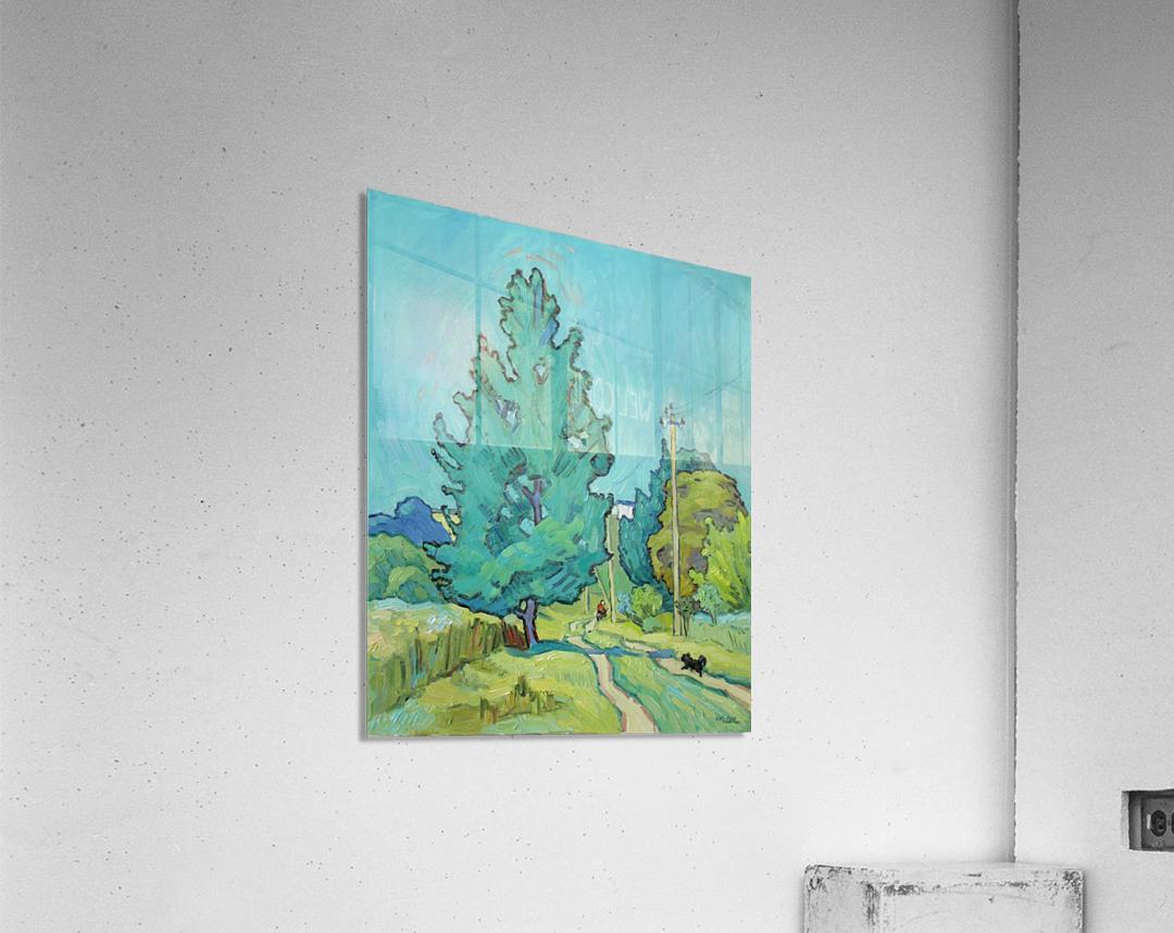 August  Acrylic Print