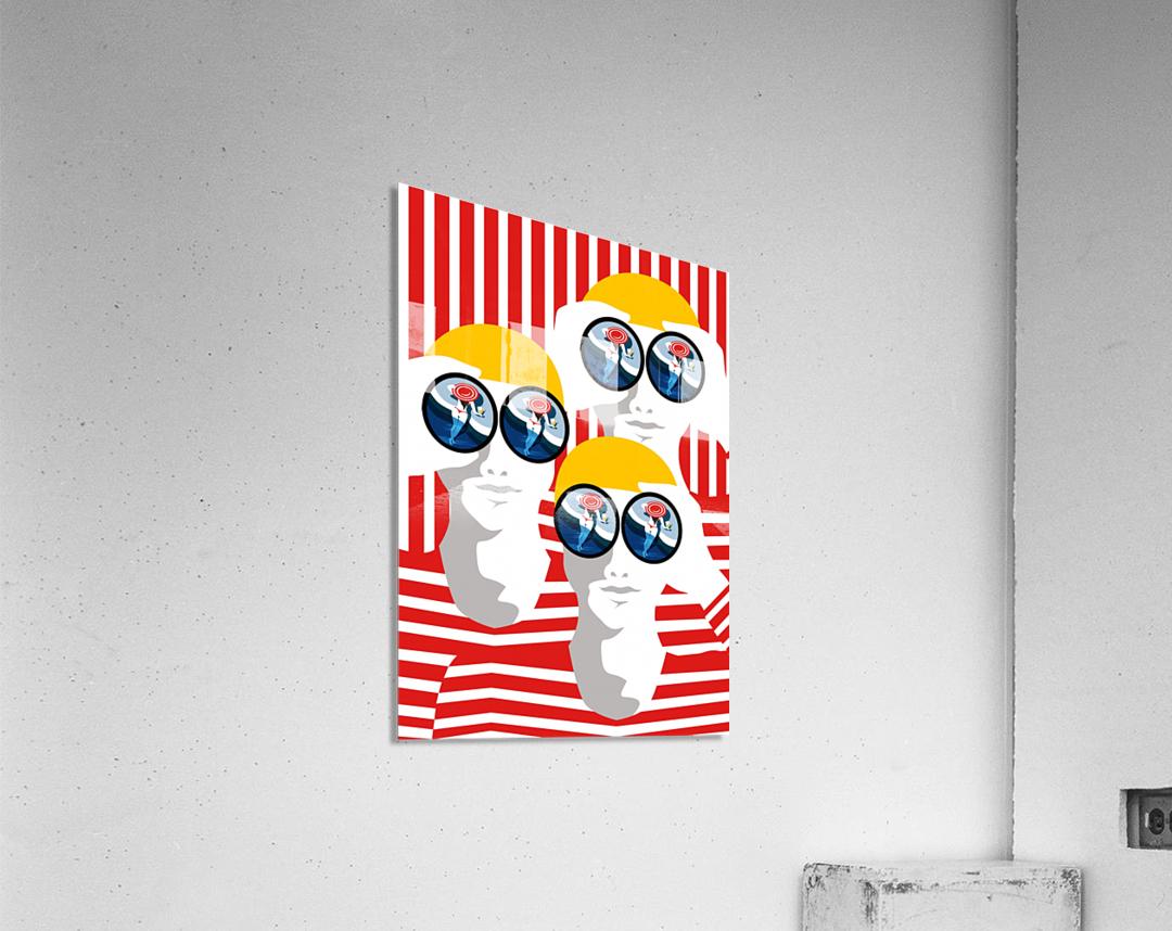 The Observers   Acrylic Print