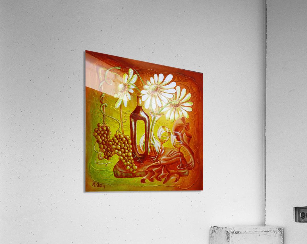 Pleasure in a bottle  Acrylic Print