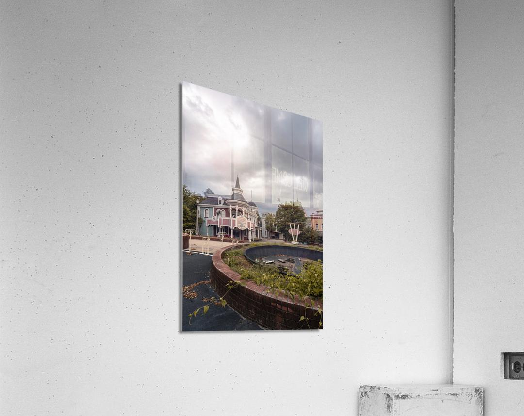 Abandoned Theme Park Missouri Usa  Acrylic Print