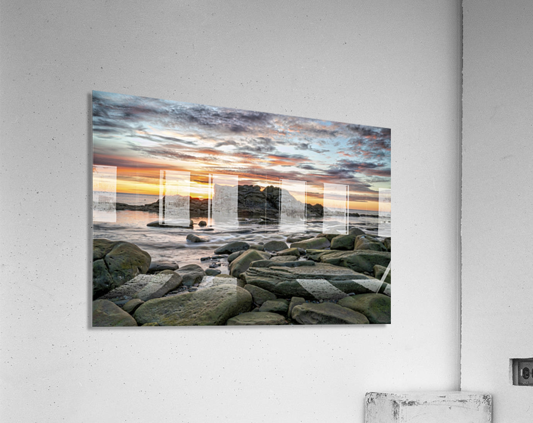 The Big Rock  Acrylic Print