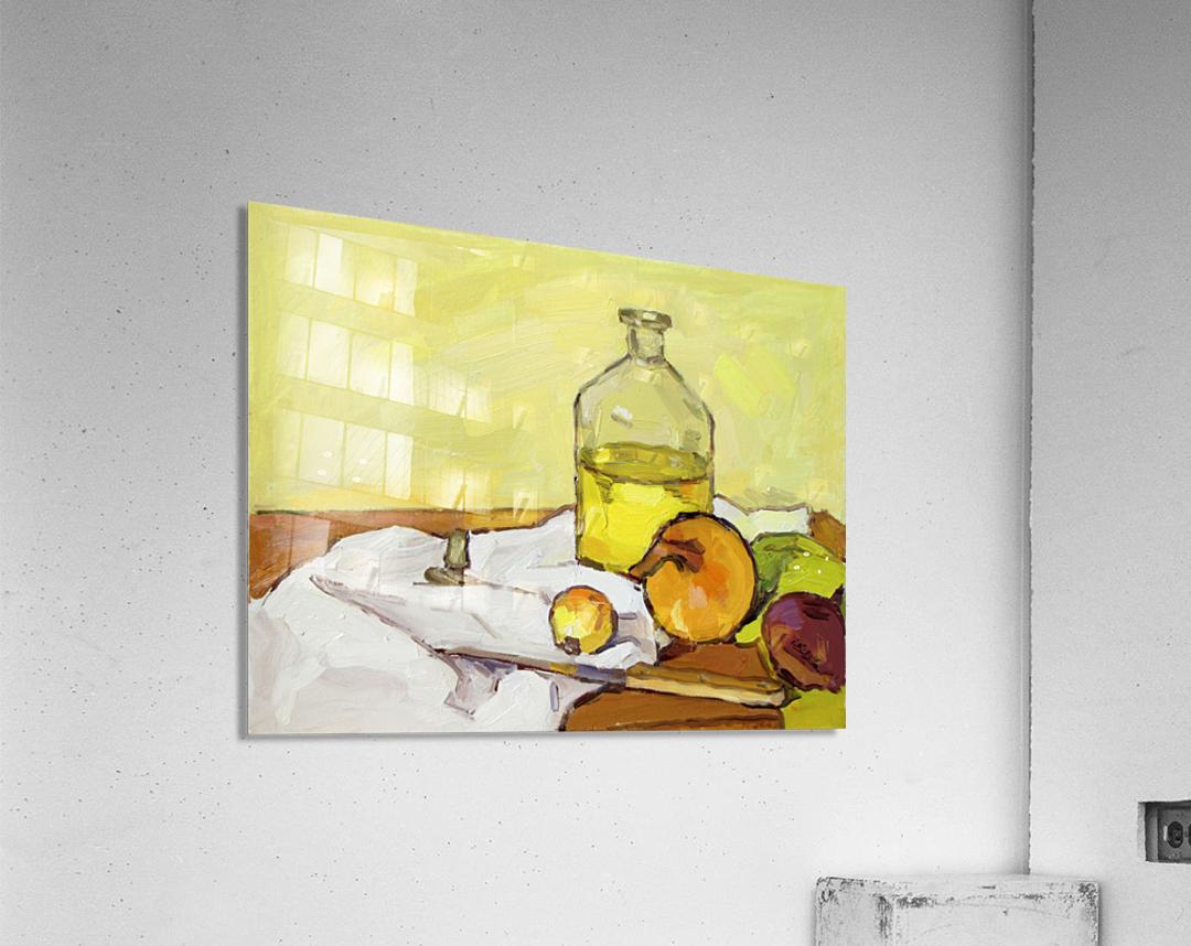 Still Life with Onion-2  Acrylic Print