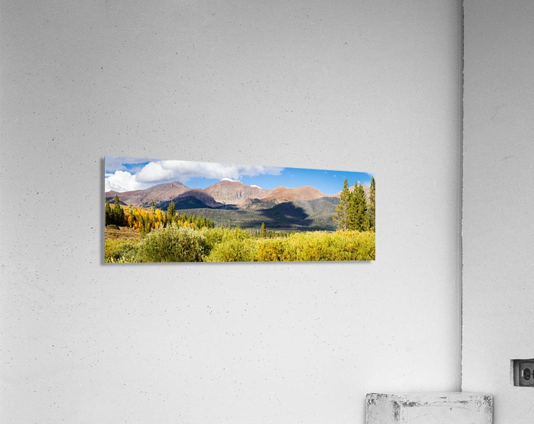 North Park Colorado   Impression acrylique