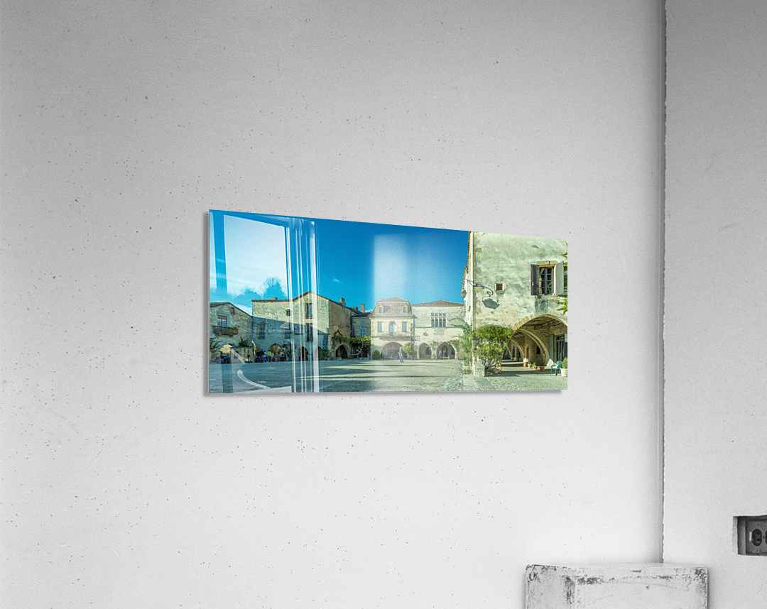 Monpazier Dordogne   Acrylic Print