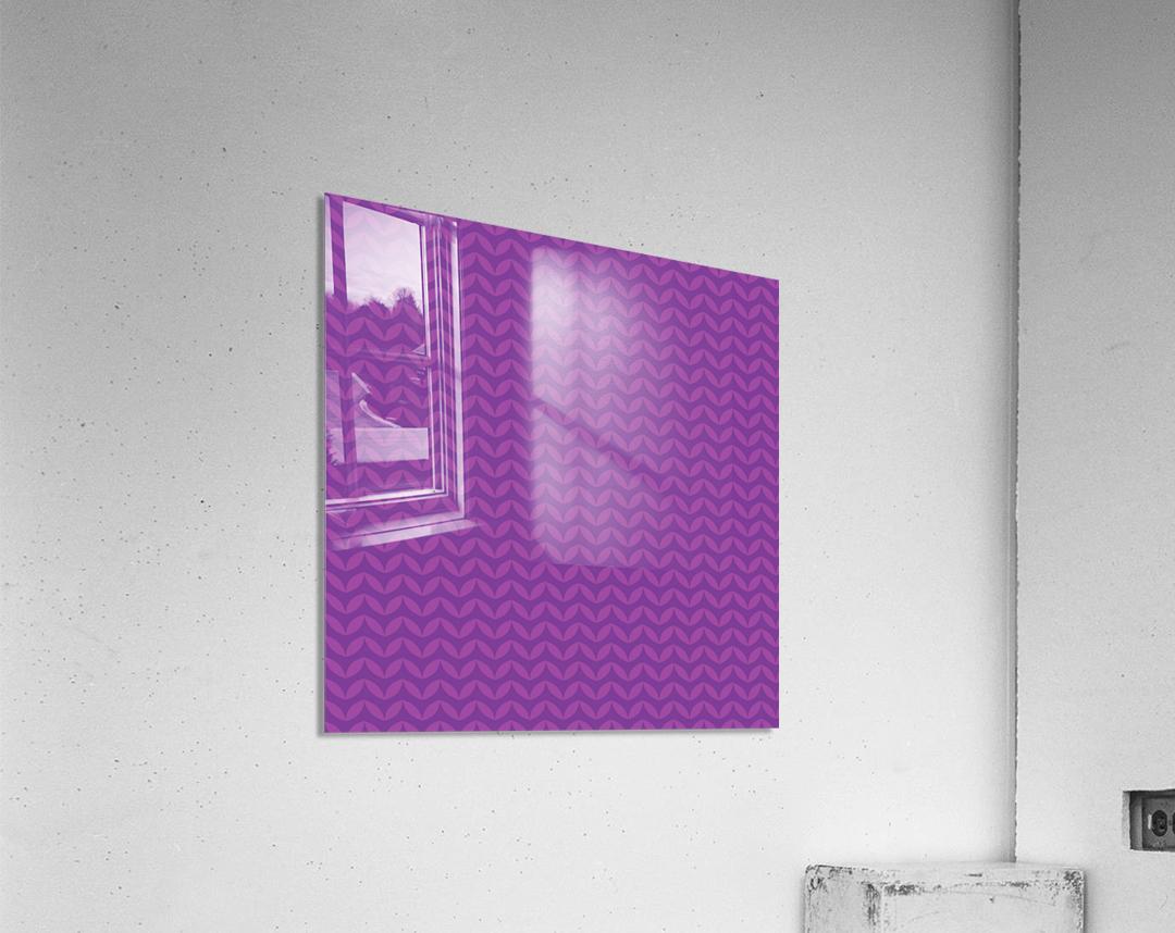 Wavy Seamless Pattern Art  Acrylic Print