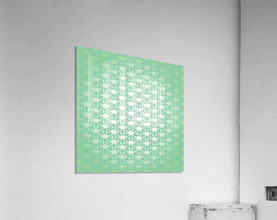 Ornamental Art Pattern Artwork  Acrylic Print
