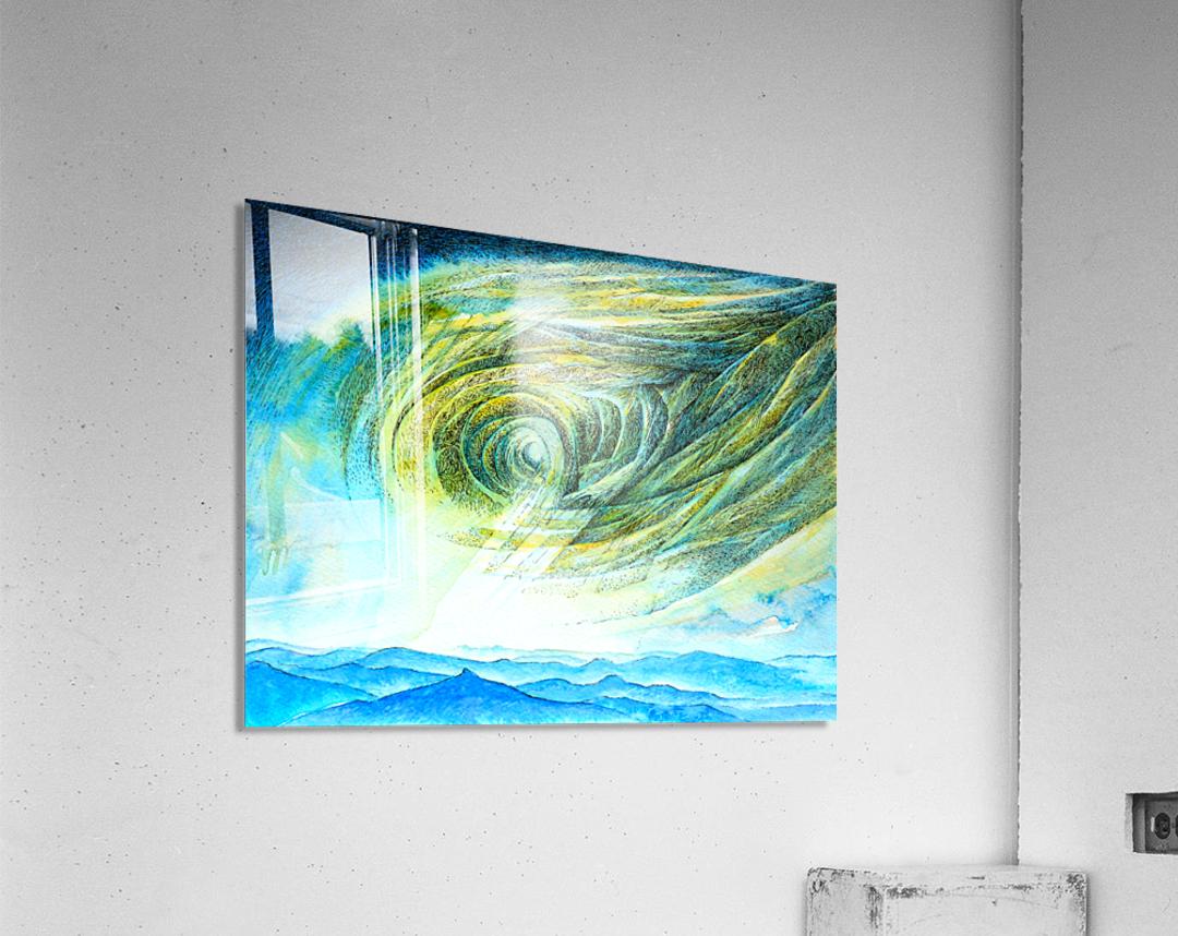 The sky 2  Acrylic Print