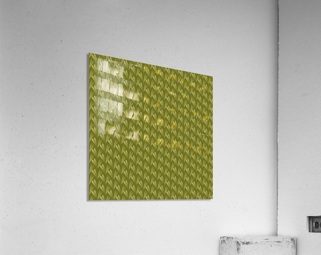 Green Land  Acrylic Print