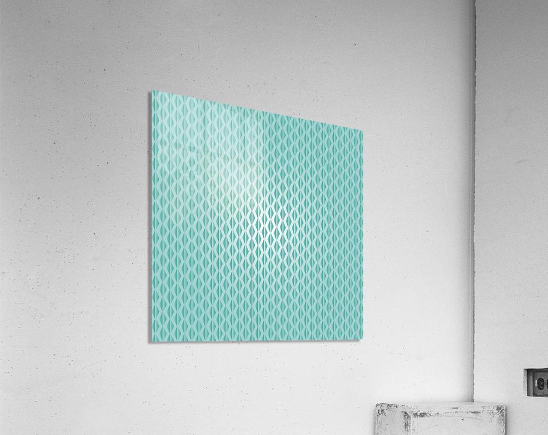 Green Diamond Art  Acrylic Print