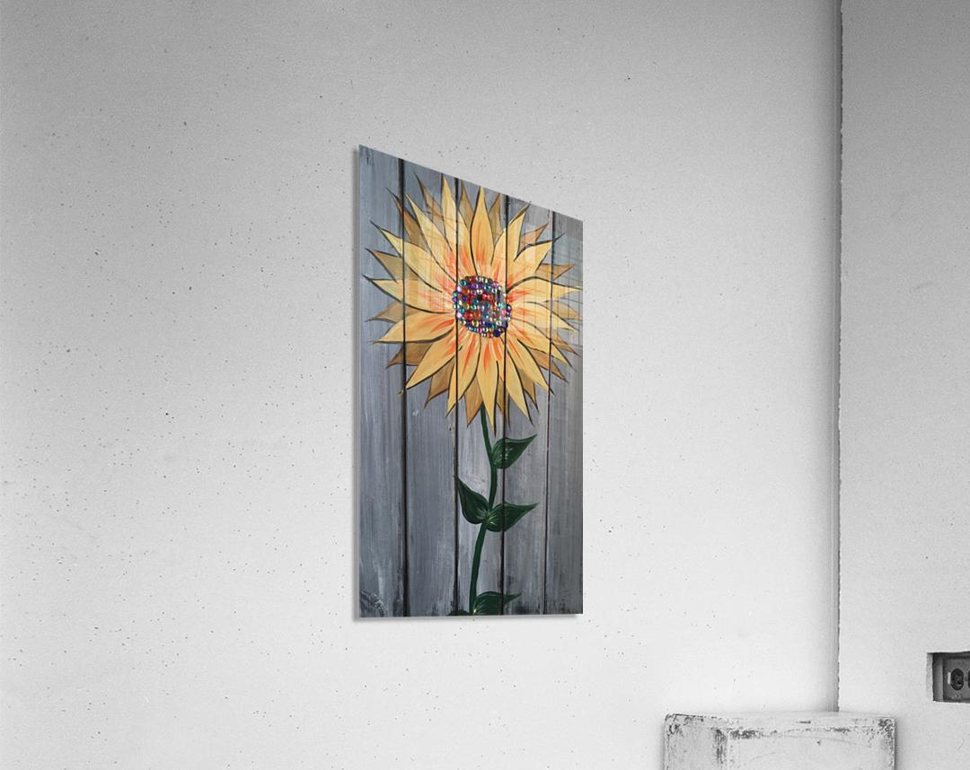 Jeweled Daisy  Acrylic Print