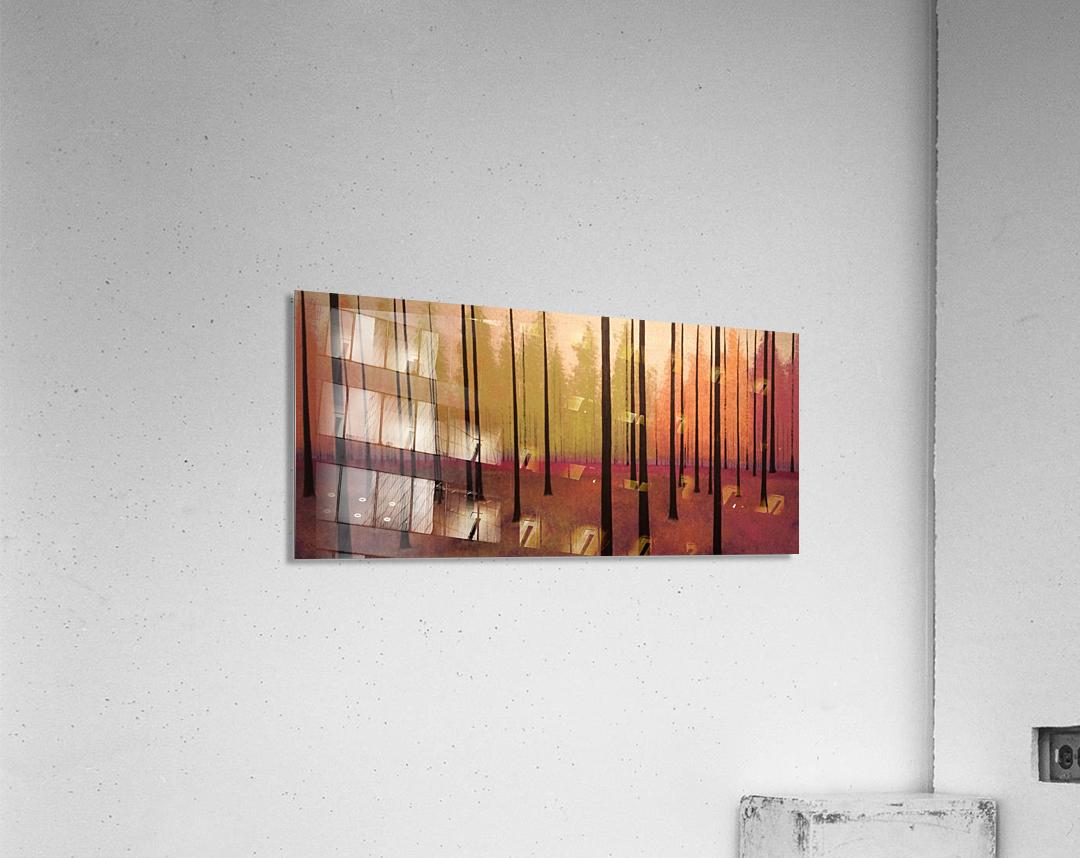 Sherbert Forest  Acrylic Print