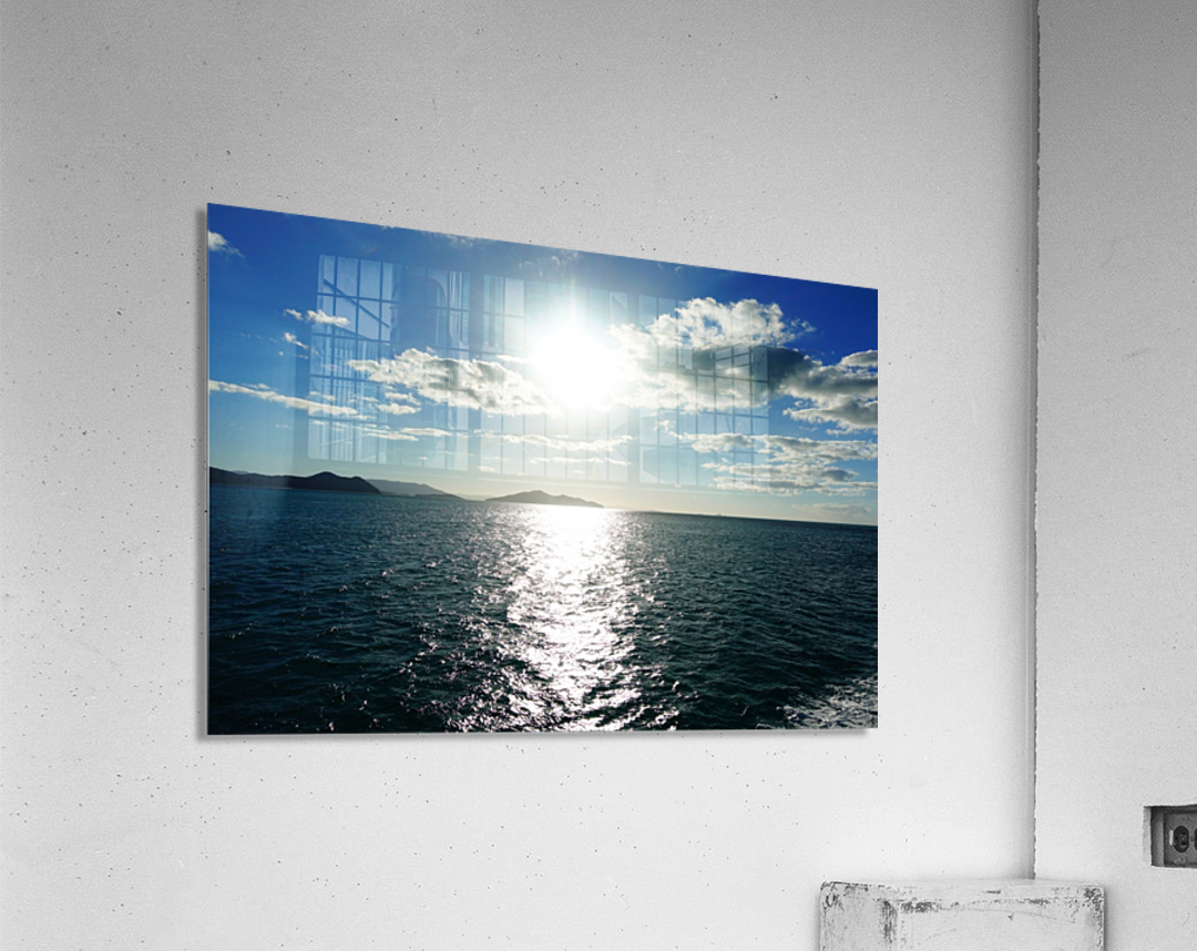 Sea Sun  Acrylic Print