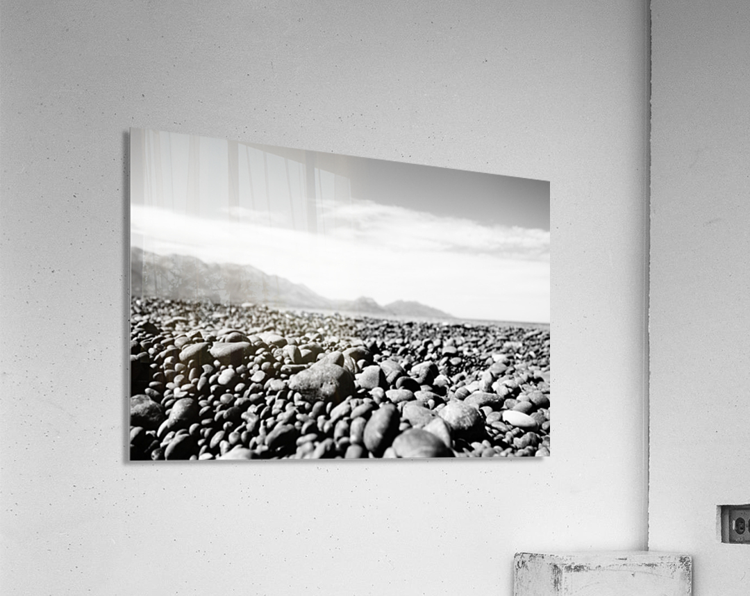 Pebbles on beach  Acrylic Print